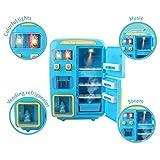Spielhaus Spielzeug, elektrische Simulation Doppel Kühlschrank Automaten Spielhaus Spielzeug Tür...