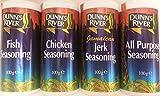 Dunn's River Seasoning Collection(Fish,Chicken,Jerk & All Purpose Seasonings) 100g each