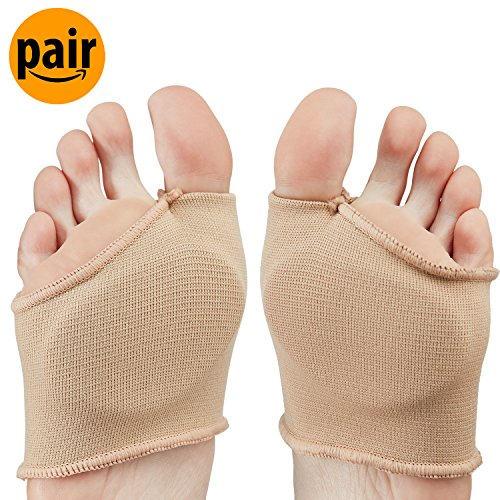 NatraCure Gel Metatarsal Sleeves (Small/Medium) (1225/26-MC CAT) - One Pair by PolyGel