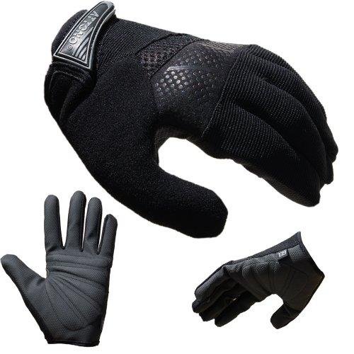 Mountainbike Handschuhe von ATTONO Fahrrad BMX Gel Fahrradhandschuhe Größen 6-11