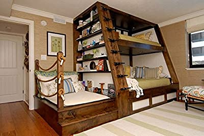 Bunk bed ART DECO - Caribbean model produced by 3Gifts - quick delivery from UK.