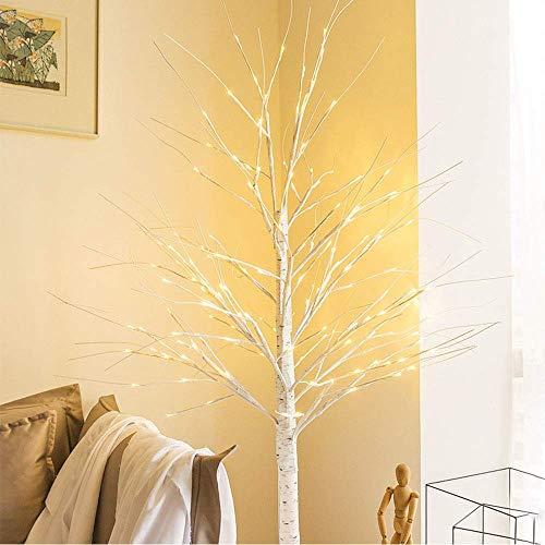 Little ZhuZhu Lámpara de pie de Abedul, Luces de árbol de los bonsais, lámpara de pie, lámpara de Mesa Decorativa, Regalo Creativo Moderno for Sala de Estar Dormitorio Fiesta (Size : 170cm*152LEDs)