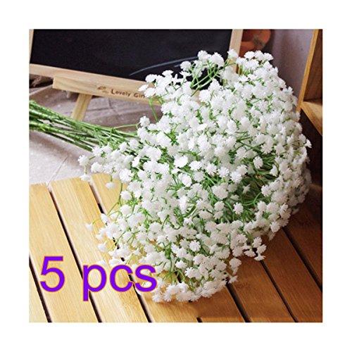 ankko-artificial-flowers-white-gypsophila-home-party-wedding-decor-flowers-5pcs