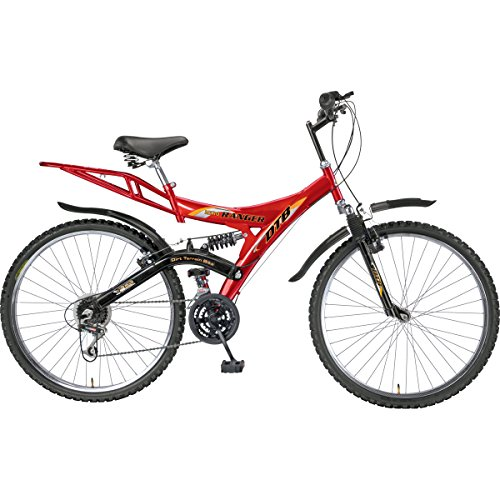 ab2a04e3a2b 21% OFF on Hero Ranger DTB VX 26T 18 Speed Mountain Bike (Black/Red) on  Amazon | PaisaWapas.com