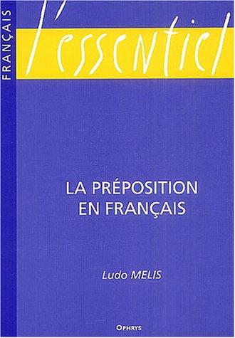 La préposition en français