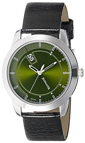 518NMXwK5ZL - Sonata 7924SL09 Green Mens watch