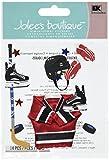 Jolee's Boutique Dimensional Aufkleber Eishockey