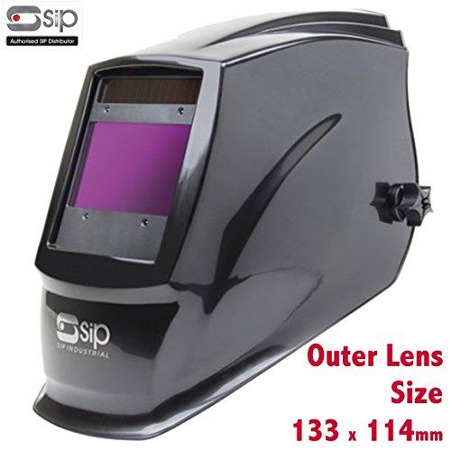 Sip 02884Meteor 2300Schweißerset Automatik Schweißhelm Schleifstifte Headshield Maske Helm