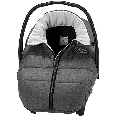 Peg-Pérego Igloo Cover - Funda de invierno/saco para silla de coche, color gris