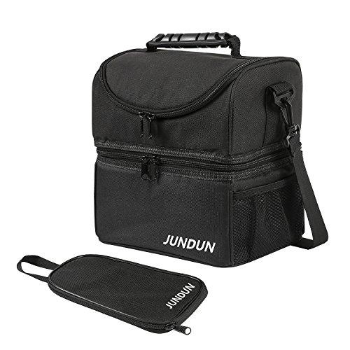 JUNDUN Bolsa Térmica con Bolso Accesorio para