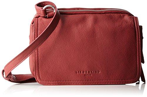 Damen Maike7 Vintag Umhängetasche, Rot (Phonebox Red), 10x23x17 cm Liebeskind