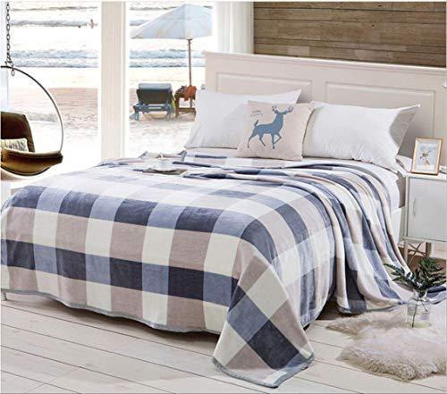 LIUZIXIN Textiles para el hogar Sueño Manta de Leopardo Sofá Cama Avión...
