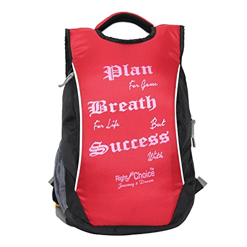 Right-Choice-Plan-2224-black-red-stylish-tuff-quality-college-school-casual-Backpack-bags-boys-and-girls