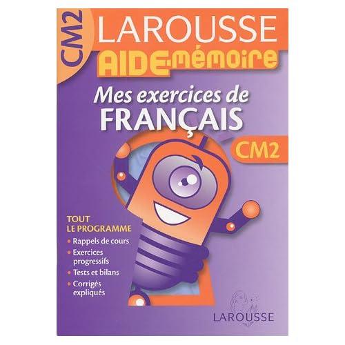 Mes exercices de français CM2
