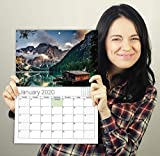 Paysage Photo Calendrier mural Planner 2019A3Grande mensuel View...