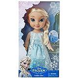 Disney Eiskönigin–79513–Puppe Elsa Deluxe, 38°cm