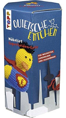 �kelset Superheld: Anleitung und Material für eine tollkühne Superhelden-Ente zum Selberhäkeln ()