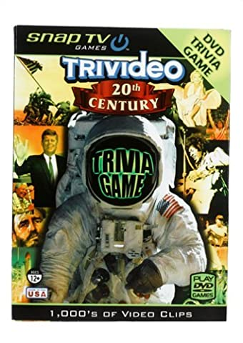 Snap TV Trivideo 20th Century DVD Trivia Game by Snap