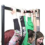 6ft Black Clothes Rail Strong and Robust 183cm wide 155cm high 50cm deep from Caraselle