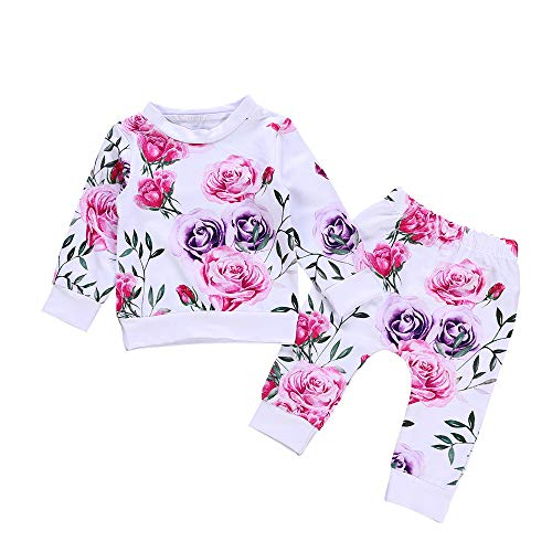 Mingfa.y_Baby Clothes Outfits Clearance Sale Baby Mädchen (0-24 Monate) Kleid Gr. 3-6 Monate, weiß