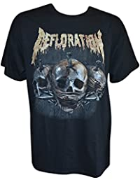 DEFLORATION - Created To Kill - T-Shirt - Größe Size L