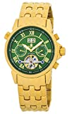 Burgmeister Armbanduhr für Herren mit Analog Anzeige, Automatik-Uhr mit Edelstahlarmband - Wasserdichte Herrenuhr mit zeitlosem, schickem Design - klassische Uhr für Männer - BM118-299 California