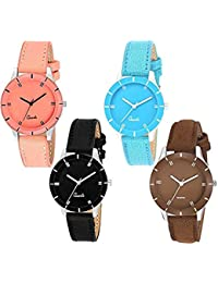 Acnos Analogue Women's Watch - Pack of 4