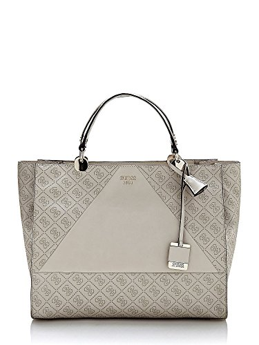 GUESS CAMMIE LARGE SATCHEL SG653707-STO STONE
