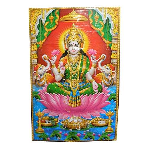 xl-poster-lakshmi-146x96cm-deidad-hinduismo-india-religion-lamina-artistica-decoracion