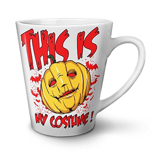 Halloween Kostüm Horror WeißTee KaffeKeramik Kaffeebecher 12 | (Für Empörend Halloween Kostüme)