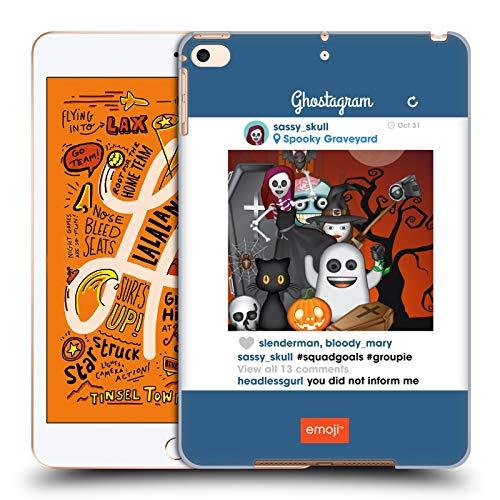Head Case Designs Offizielle Emoji® Squad Goals Halloween Parodien Harte Rueckseiten Huelle kompatibel mit iPad Mini (2019)