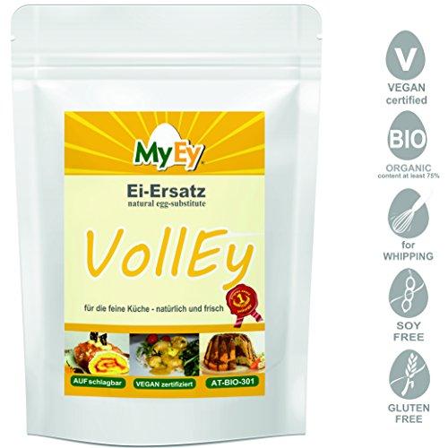 MyEy VollEy Ei-Ersatz, natürlich & voll aufschlagbar, universell einsetzbar, lactosefrei & vegan, 1er Pack (1 x 1 kg) - 3