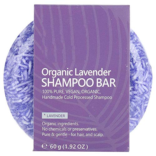 Lavendel Hair Conditioner (Shampoo Bar Hair Conditioner Natural Plant Extract ätherisches Öl für Shampoo Seife Haarbehandlungen, Haarbehandlung aus Leder Lavendel)
