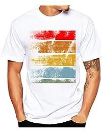 Camiseta, Oyedens Muchachos del muchacho más la camiseta de las camisetas de la impresión del tamaño manga corta de la camiseta del algodón de la manga remata (XXL)