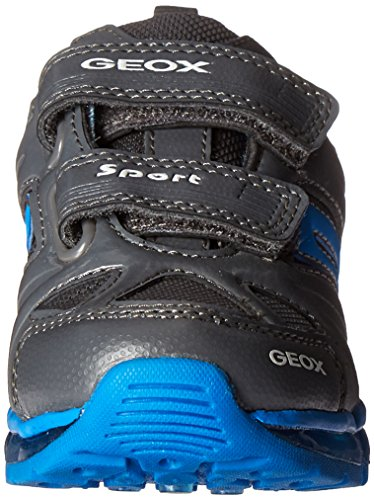 Geox J Android D, Baskets Basses Garçon Grau (DK GREY/SKYC1338)