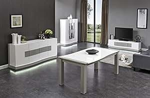 Salon Sejour Complet Table Buffet Meuble Tv Vitrine Design
