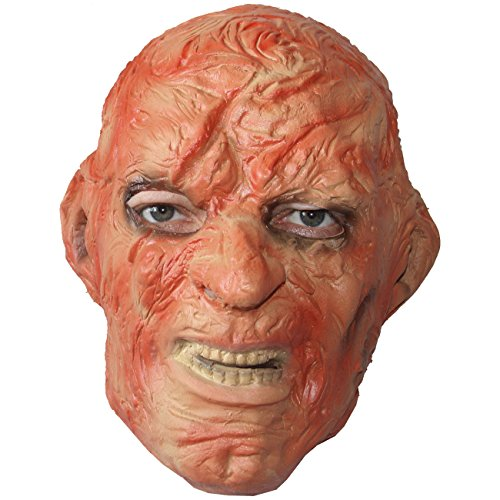 (Unbekannt Vollmaske verbrannter Kopf Maske Latex Horrormaske Freddy)