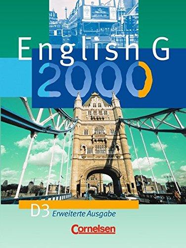 English G 2000 - Erweiterte Ausgabe D / Band 3: 7. Schuljahr - Schülerbuch,