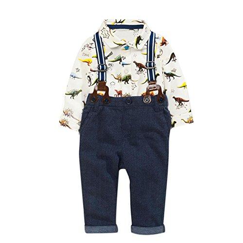 0c7838760ace8 La Cabina Bébé Garçon Boy Ensemble de Costume en 2 PCS Luxueux Chemise +  Pantalon à