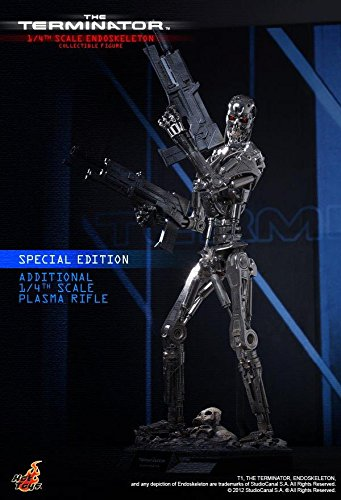 Hot Toys The Terminator - T-800 Endoskeleton Special Edition Ver. 1/4 Scale Figure 3