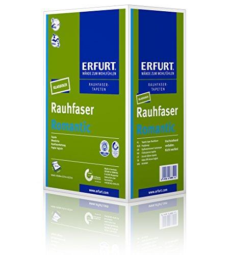 Erfurt Rauhfaser - Romantic | 1 Karton mit 6 Rollen