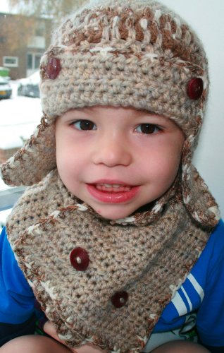 tor hat and scarf pattern! 4 sizes newborn to adult (Crochet Hatas Book 1) (English Edition) ()