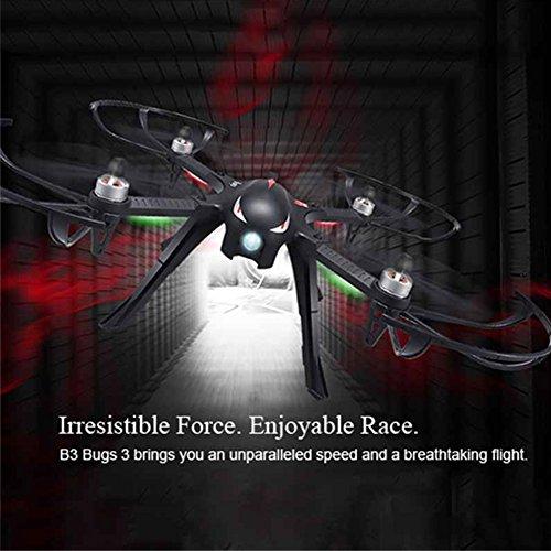 MJX B3 Profi Quadrocopter Drohne mit Aktionkamera-Halterung für Gopro Bürstlose Motoren 6A Elektrizitätsregulierung 2.4G Fernsteuer 4CH 6-Achsen Gyro 3D Rollen Funktion Drone für Profi Training Standard Version ohne Kamera und Gimbal - 9