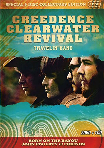 Creedence Clearwater Revival (2DVD+CD) Travelin' Band Born on the Bayou John Fogerty and Friends