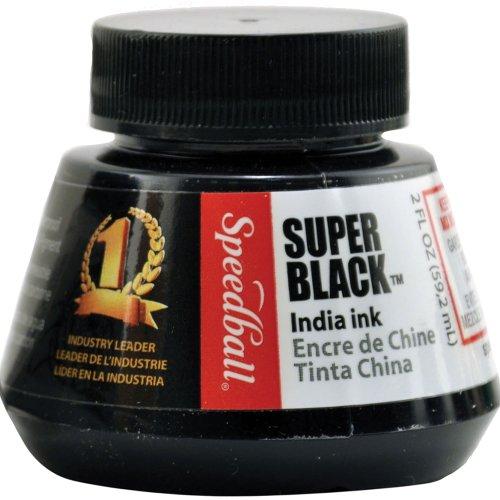 speedball-inchiostro-di-china-super-black-59-ml