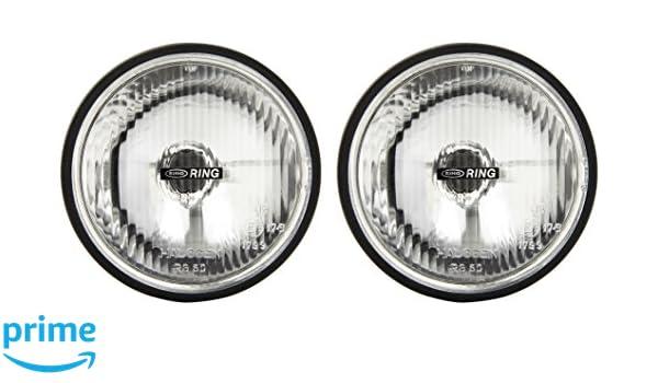 160 x 160 x 70/mm Ring RL020 Runde Scheinwerfer H x L x T 2 St/ück