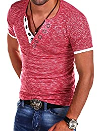 MT Styles col en V manches courtes T-Shirt Polo BS-544