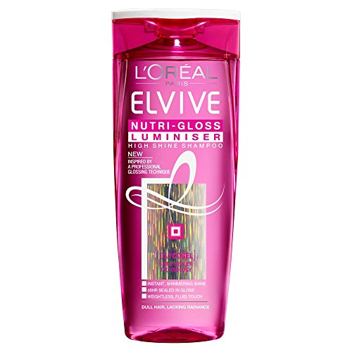 L'Oréal Paris Elvive Nutri-Gloss Luminizer haute brillance Shampooing 250 ml