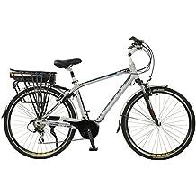 Shift Mens Lightweight Aluminium 700C Mid Drive Electric Hybrid City Bike