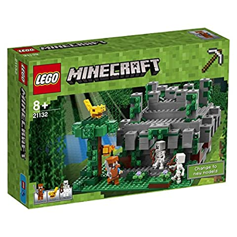 LEGO - 21132 - Minecraft - Jeu de Construction - Le Temple de la Jungle